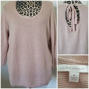 🎀 3/$20! - Lauren Conrad sweater blush pink